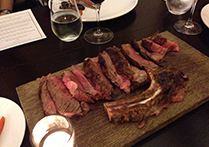 Black Onyx Launch Sinapore Dry Aged BO OP Rib on the bone feature